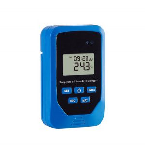 4 in 1 Air Temperature, Humidity, Dew Point, Heat Index Data Logger