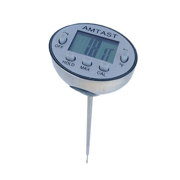 AMTAST Digital Waterproof Stainless Steel Food Thermometer (US Brand)