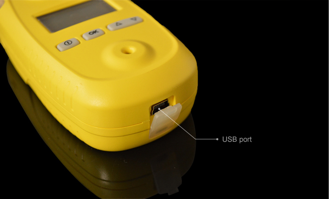 Portable USB Carbon monoxide/Co data logger (UK Sensor)