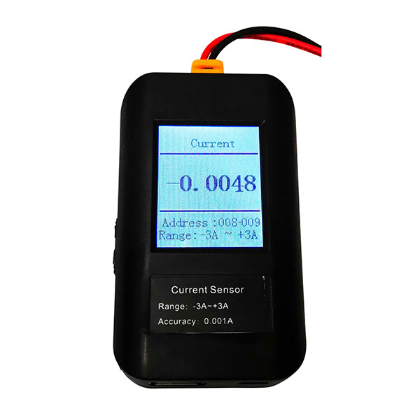 DC Current Data Logger (-3A to +3A)