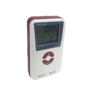 DC Voltage Type K and Air Temperature Thermocouple Data Logger