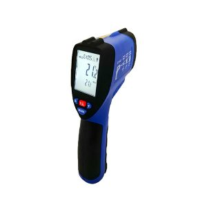 Precision Digital High Temperature Infrared Thermometer Real Time Data Logger (1650°C)