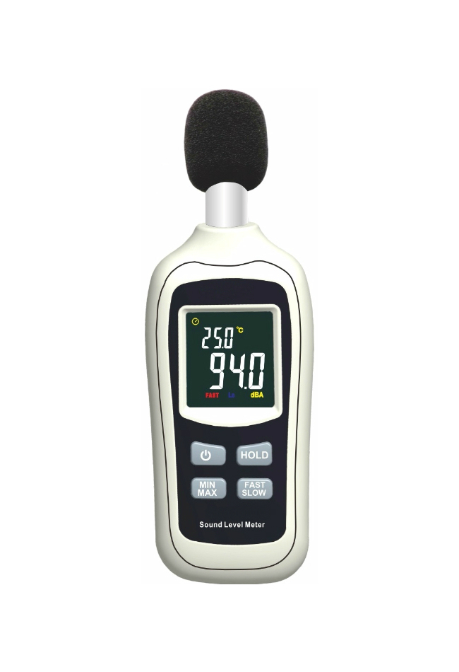 Sound Level Meter air temperature meter