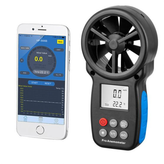 WiFi-Mobile-APP-Anemometer-Data-Logger