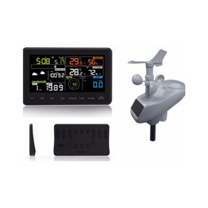 Wifi Wireless Weather Station  Solar Power UV Transmitter