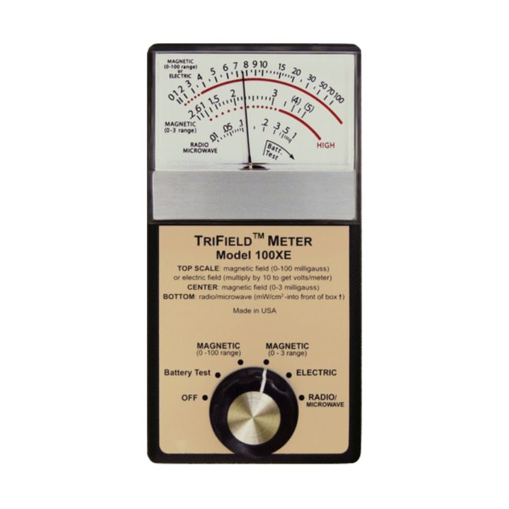 Trifield Electromagnetic Meter 3-Axis EMF Detector - USA