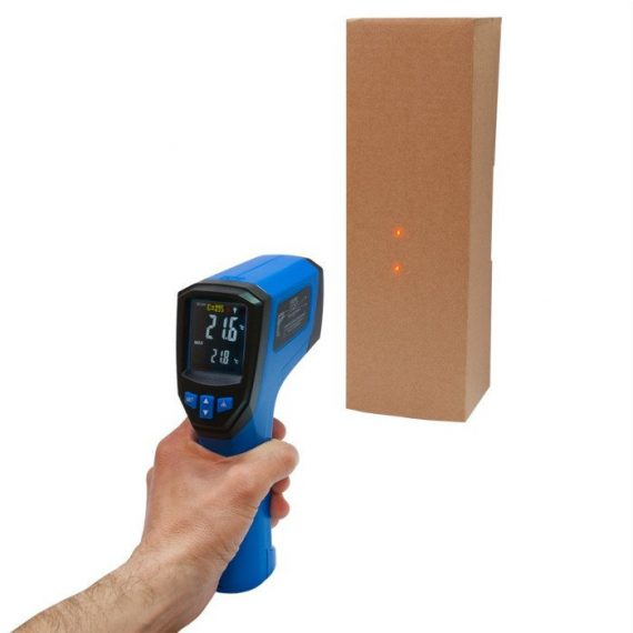 Infrared & Thermocouple Thermometer 3